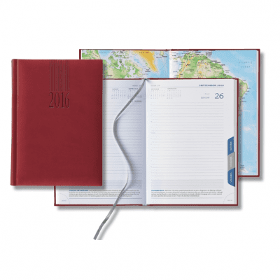 Tucson Mid-Size Tabbed Daily Planner