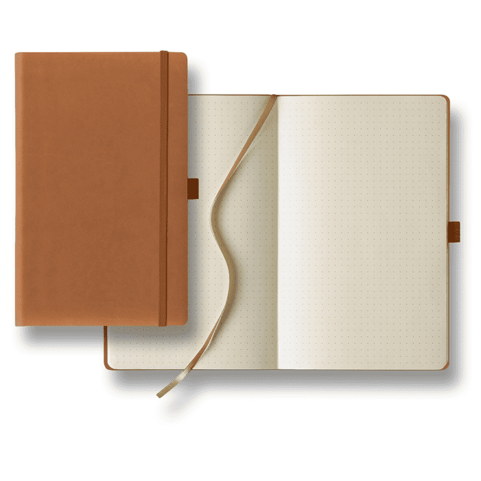 Tucson Medium Dots Ivory Journal