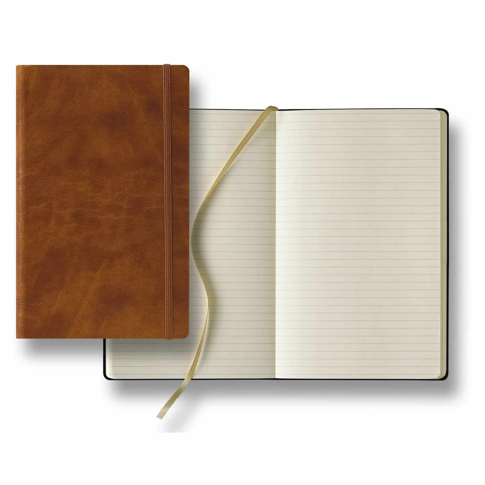 Cuir Medium Ivory Journal