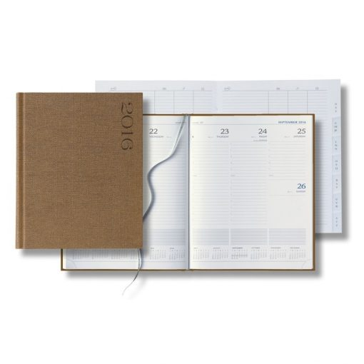 Nature Large Weekly Desk Planner - 2018