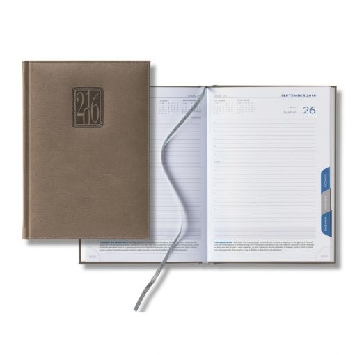2018 Panama Mid-Size Tabbed Daily Planner