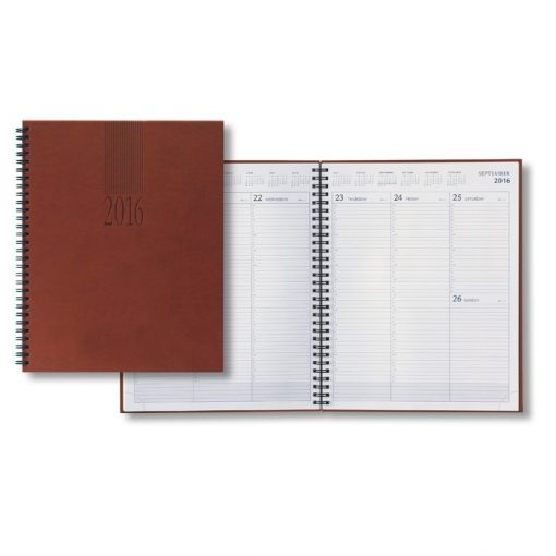 2018 Tucson Large Desk Wire Weekly Planner