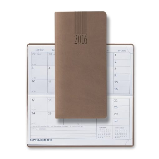 2018 Tucson Pocket Horizontal Monthly Planner