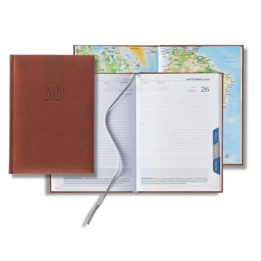 Castelli 2020 Tucson Mid-Size Tabbed Daily Planner